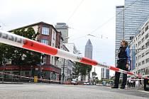 Nádraží ve Frankfurtu nad Mohanem uzavřela policie