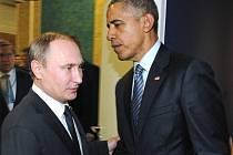 Vladimír Putin a Barack Obama