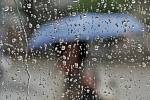 Deštivé počasí - ilustrační foto