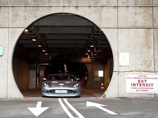 Eurotunel. Ilustrační foto
