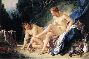 François Boucher, Diana odpočívá po koupeli