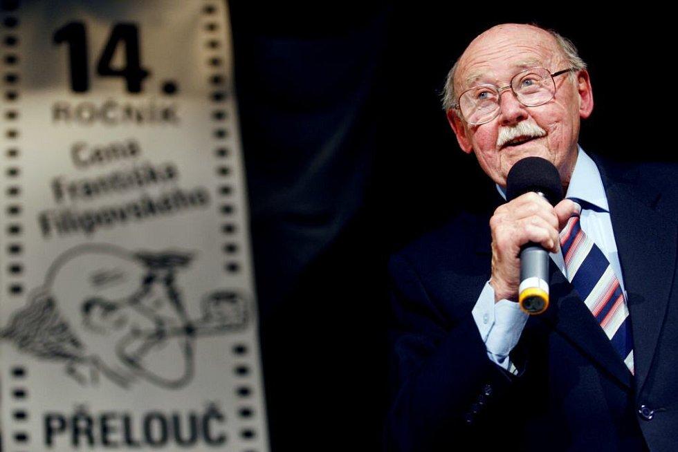 Lubomír Lipský získal ocenění za celoživotní mistrovství v dabingu.