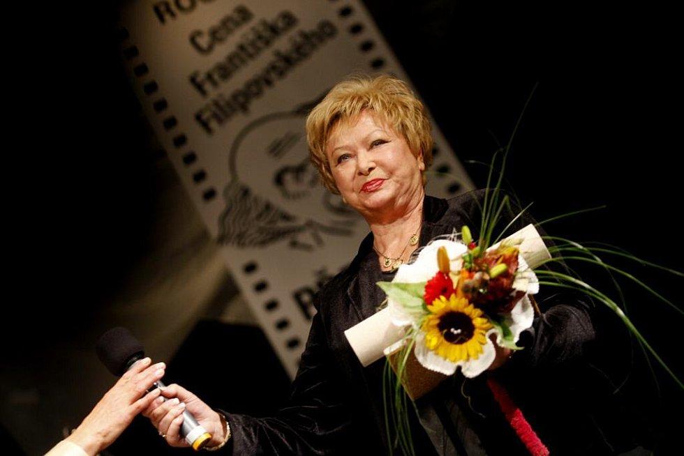 Alena Vránová získala cenu za nejlepší ženský výkon.