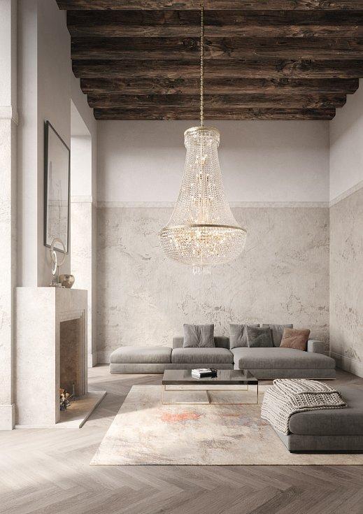 Křišťálová krása spojená s historickým designem, tak popisuje Preciosa Lighting letošní novinky – stolní lampu Marie Theresa a lustr George, který nese jméno britského monarchy Jiřího II.