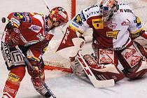 Fanoušci hokejové Slavie si ve čtvrtek opět přijdou na své. Jejich tým čeká souboj s Karlovými Vary.