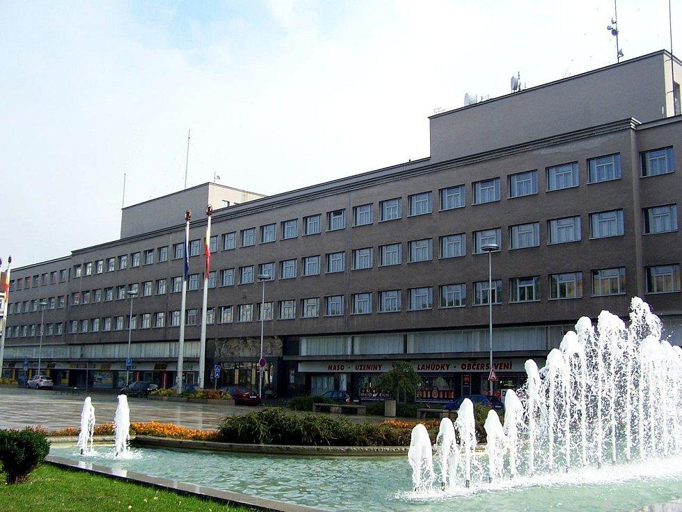 Budova bývalého ředitelství státních drah v Hradci Králové