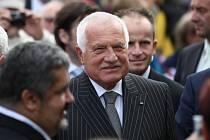 Prezident Václav Klaus v Chrastavě.