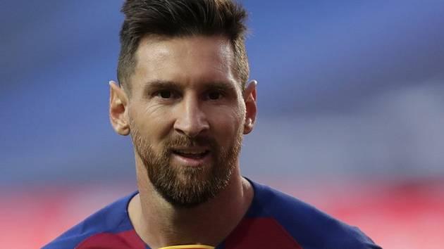 Fotbalista Barcelony Lionel Messi.