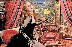 MOULIN ROUGE. Nicole Kidman v muzikálu Baze Luhrmanna.