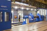 Obráběcí centrum Doosan Škoda Power v Plzni