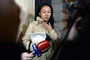 Ukrajinská aktivistka Anželina Diašová