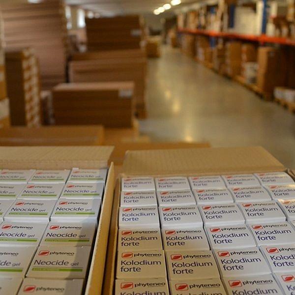 Sklad hotových výrobků ve Stříbrné Skalici