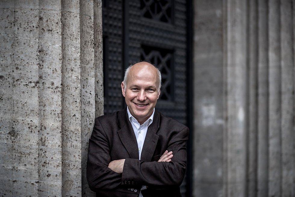 Pavel Fischer, ředitel STEM, poskytl 11. července v Praze rozhovor Deníku.