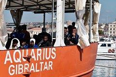 Humanitární loď Aquarius