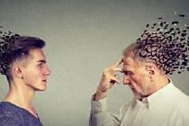 Alzheimerem můýe onemocnět i mladý člověk.