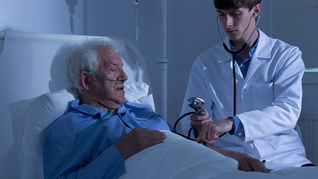 Ischemická choroba srdeční - ilustrační foto