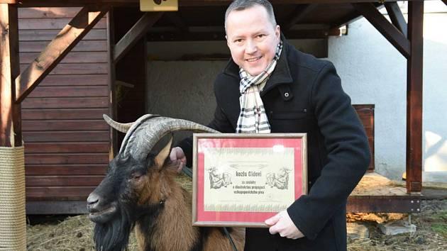 Ocenění pro kozla Oldu