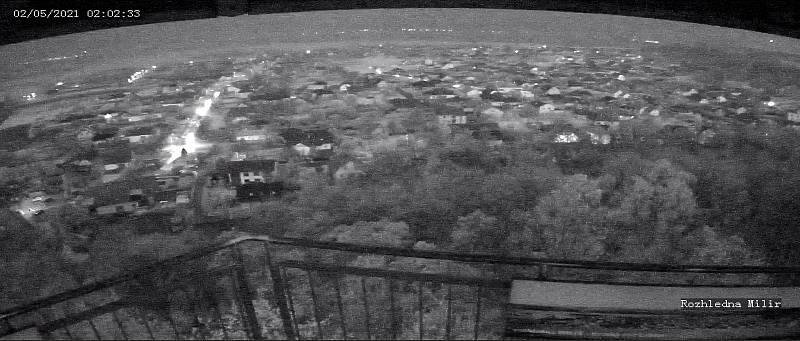 K zatím nespecifikovanému jevu došlo v neděli krátce po půlnoci u Vysoké nad Labem. Tajemná záře byla vidět desítky kilometrů daleko.