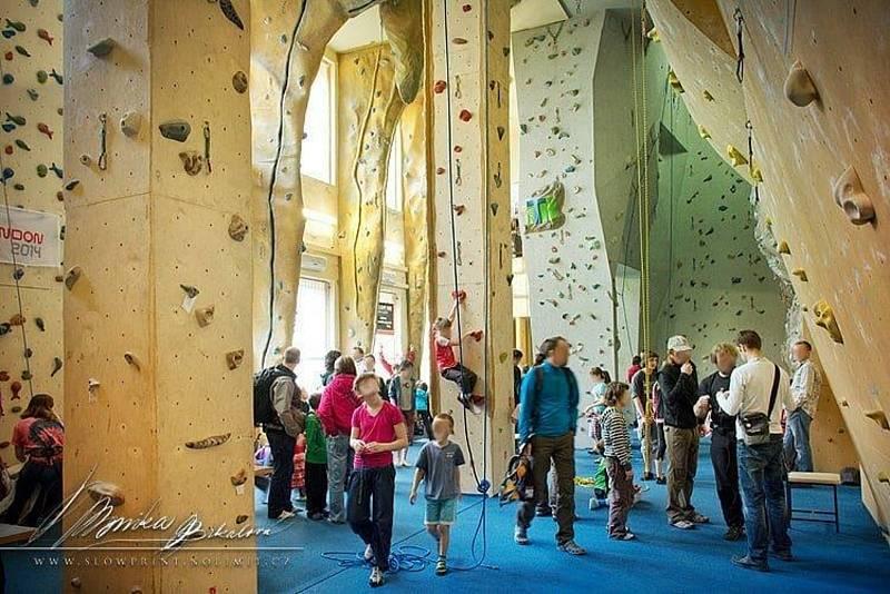 Zájem o lezecké stěny roste i díky Adamu Ondrovi. Jedna z prvních vznikla v Sobotce