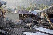 Zemětřesení v Indonésii.