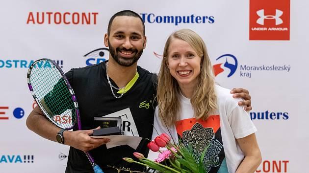 Poslední čeští mistři Daniel Mekbib a Anna Sermeová.