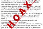 Covid je podvod, tvrdí hoax, který se snaží dokázat, že žádná pandemie není, aniž by zohledňoval fakta