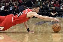 Basketbalista Chicago Bulls Tomáš Satoranský.