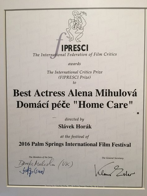 Cena pro nejlepší herečku.