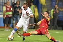 Česká reprezentace zvítězila nad Černou Horou 3:0.