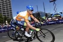 Simon Gerrans na Tour Down Under.
