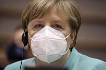 Německá kancléřka Angela Merkelová (na snímku z 8. července 2020)