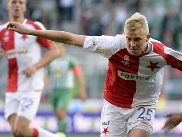Michal Frydrych ze Slavie.