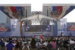 Slavností ceremoniál zahájil odpočítávání 1000 dnů do olympijských her v Pchjongčchangu 2018.