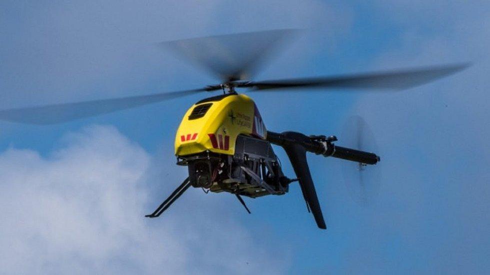Australský záchranný dron