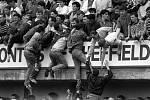 Tragédie na stadionu Hillsborough v anglickém Sheffieldu
