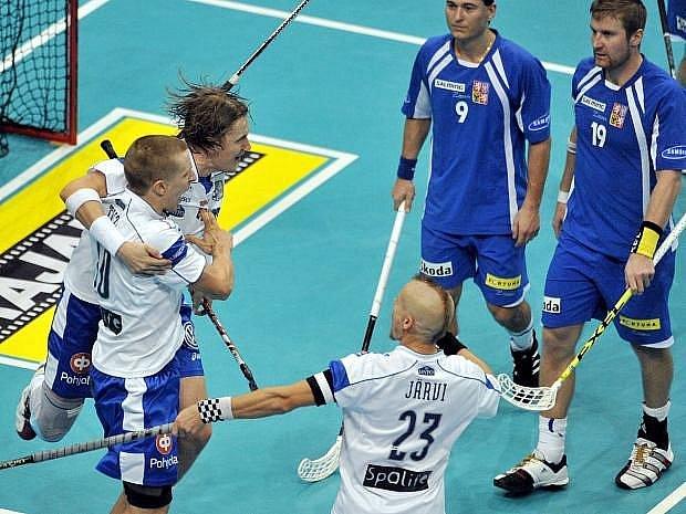 Češi v semifinále mistrovství světa ve florbale na Finy nestačili.