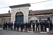 Protesty bachařů ve Francii.