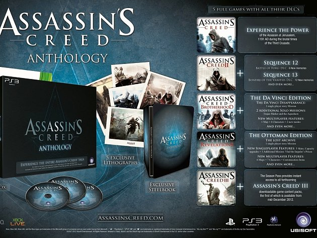 Anthology edice série Assassin's Creed.