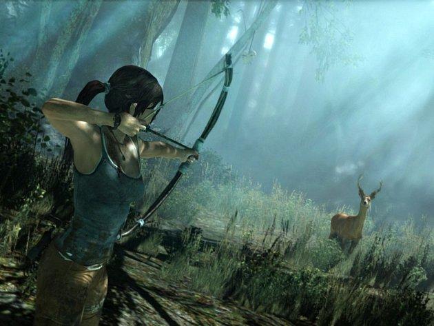 Počítačová hra Tomb Raider.