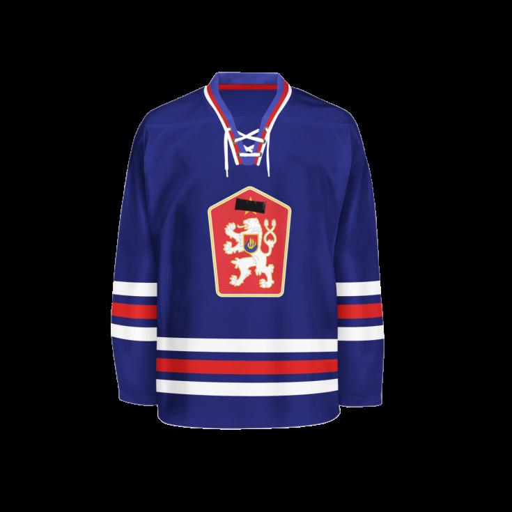 Hokejový dres z roku 1969.