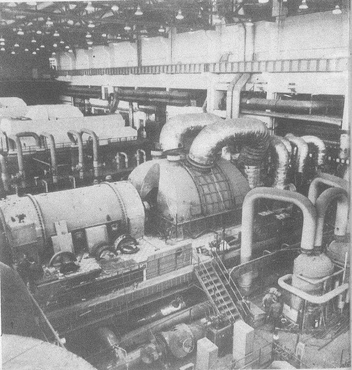 Elektrárna Ledvice - strojovna