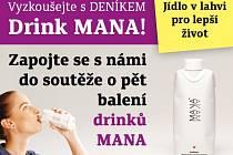 Vyzkoušejte s Deníkem drink MANA
