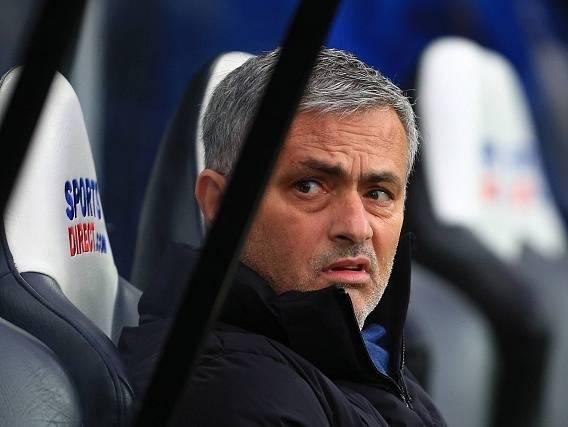 José Mourinho se po zápase v Newcastlu zlobil