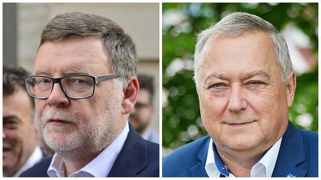 Zbyněk Stanjura (SPOLU, ODS) nebo Ivan Adamec (SPOLU, ODS)