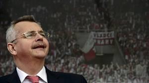 Jaroslav Tvrdík při přebírání stadionu Slavie společností CEFC Euroep