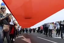 Polsko, protivládní protest