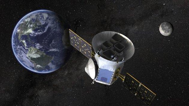 Vesmírný teleskop TESS