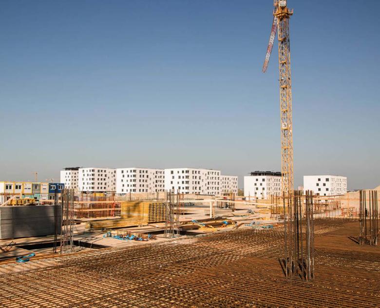 Nemocnice, kterou v Bratislavě na Borech staví společnost Penta