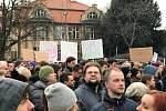 Protestní akce v Praze