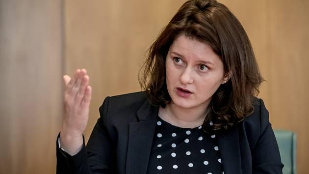 Ministryně práce a sociálních věcí Jana Maláčová.